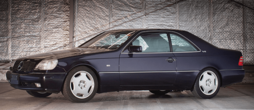 W140 S Class Coupe – A Flagship Bargain – Club House