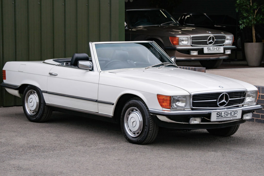 The Early Car - 1984 Mercedes-Benz R107 280 SL for sale