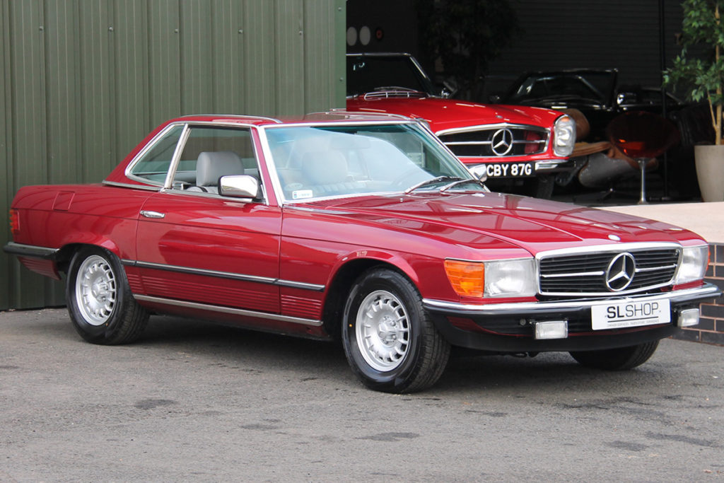 The Left Hand Drive Car - 1984 Mercedes-Benz 380SL R107 for sale