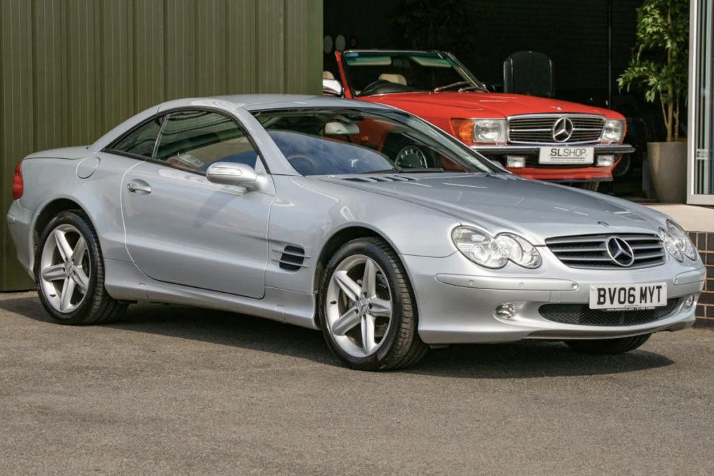 The Modern Classic Car - 2006 Mercedes-Benz SL350 R230 for sale