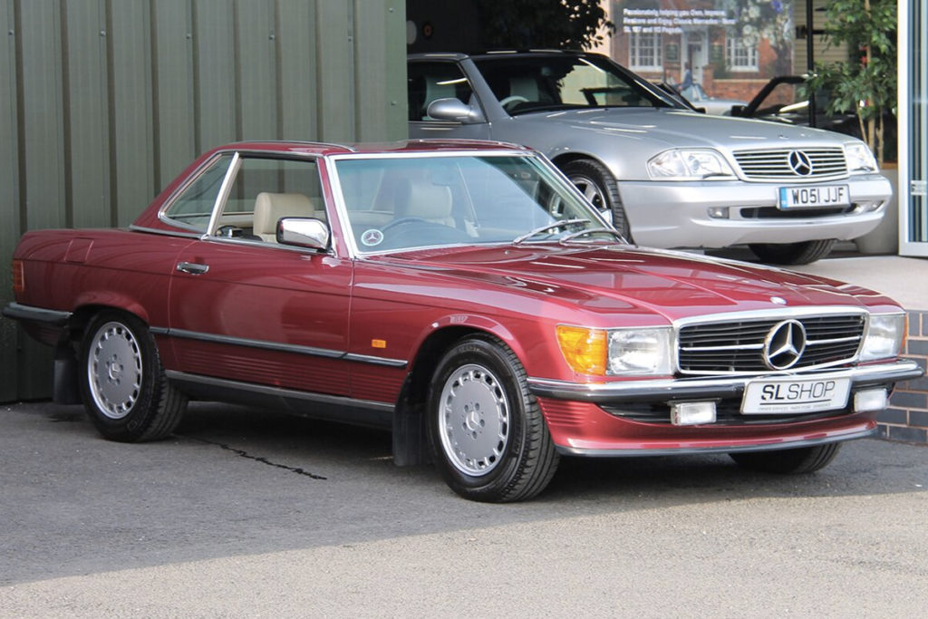 The Late Car - 1988 Mercedes-Benz R107 300SL for sale