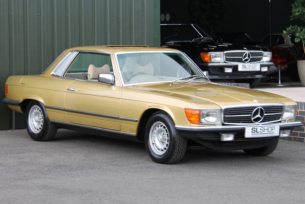 The 'you don't find those in that condition' car - 1978 Mercedes-Benz 450SLC R107 for sale