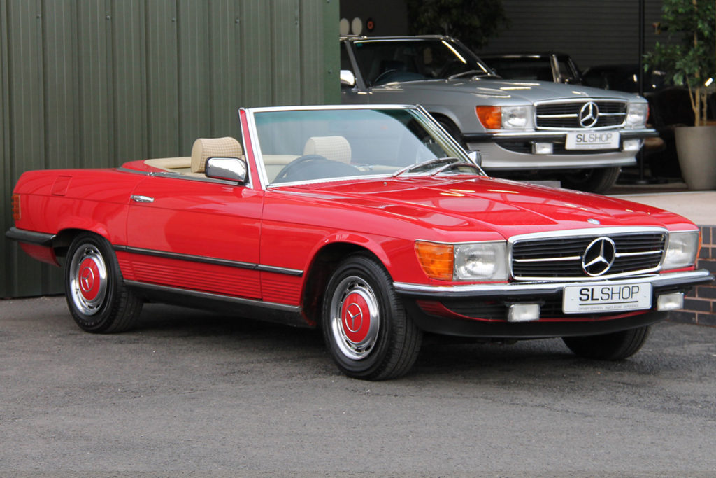 The Red Car - 1981 Mercedes-Benz 280SL R107 for sale