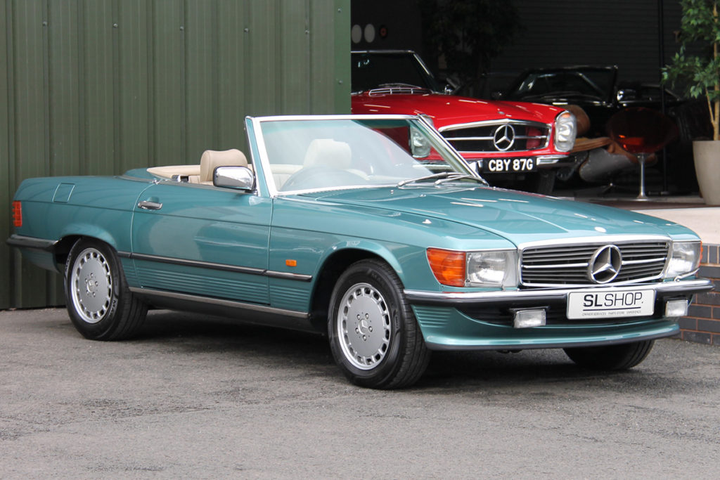 The Driver's Car - 1986 Mercedes-Benz 420SL R107 for sale