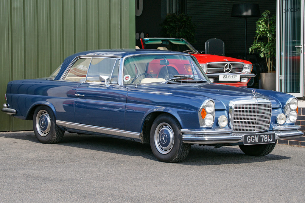 The Cruiser's Car - 1971 Mercedes-Benz 280SE 3.5 Coupe for sale