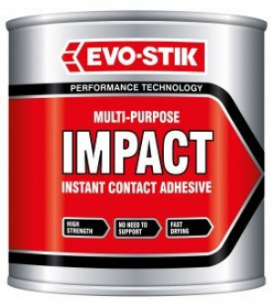 Evo-Stik Impact Multi-Purpose Contact Adhesive - 250ml