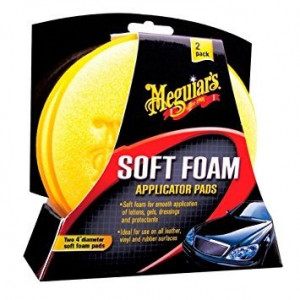 Meguiar's Soft Foam Applicator Pad (2 pack)