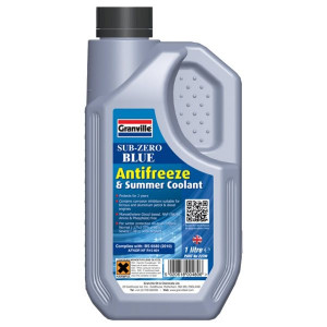 Granville Sub-Zero Blue Antifreeze & Summer Coolant - Concentrated - 1L