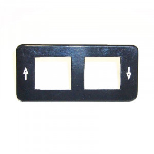 Switch frame for Mercedes Benz seat heating