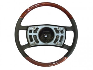 Mercedes-Benz SL W107 Burl Wood Steering Wheel