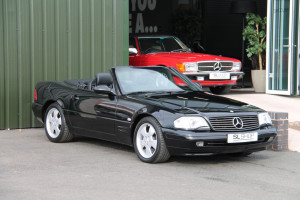 2001 Y Plate | MERCEDES-BENZ R129 | SL500 STOCK# 2072