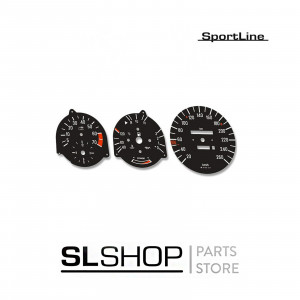 Mercedes-Benz SL 107 OEM Style Instrument Dial Kit