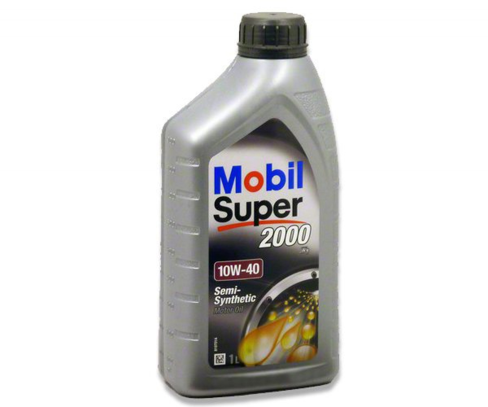 Mobil super 2000 10w 40 semi synthetic engine oil 1l for Types of motor oil weight