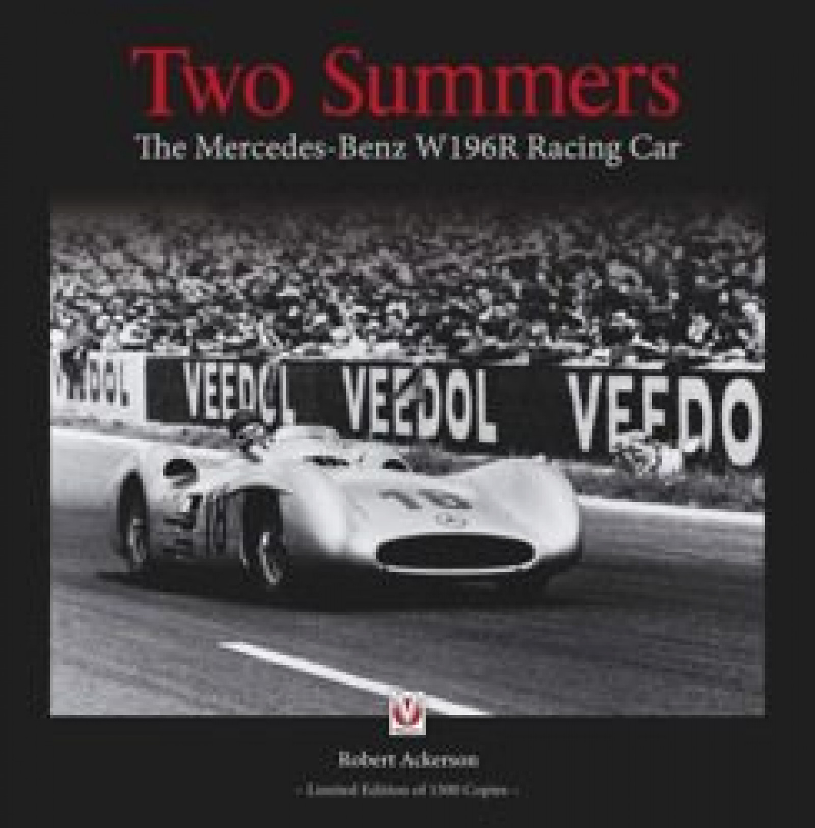 Two summers the mercedes benz w196r racing car book by for Books mercedes benz