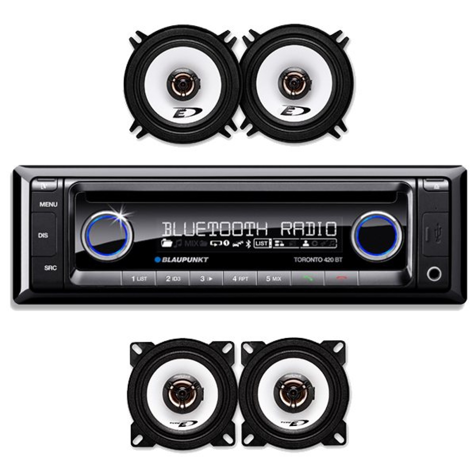 Mercedes benz sl 107 audio upgrade package deal the sl shop for Mercedes benz stereo