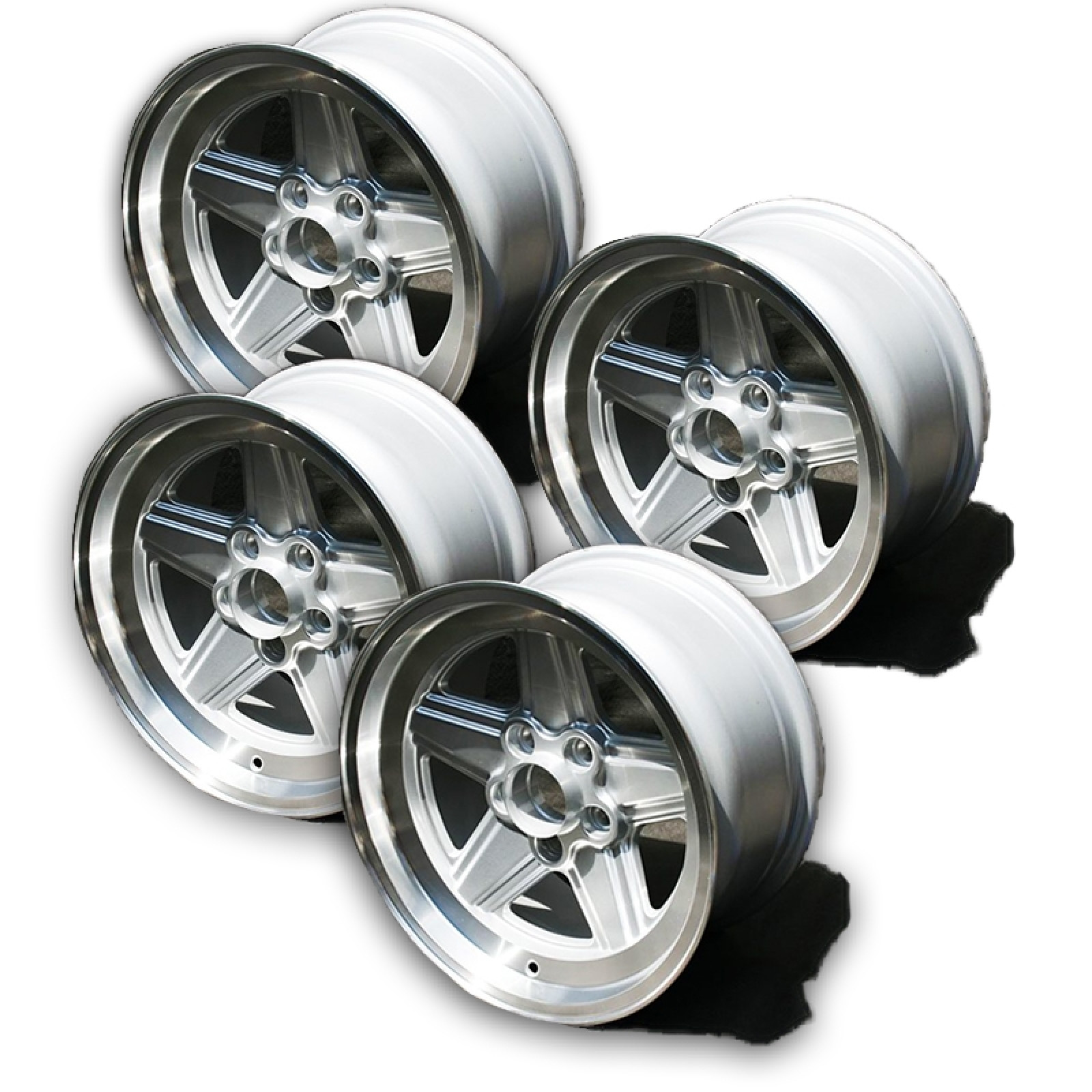 Mercedes benz 8 x 16 penta alloy wheel bundle the sl shop for Mercedes benz mag wheels