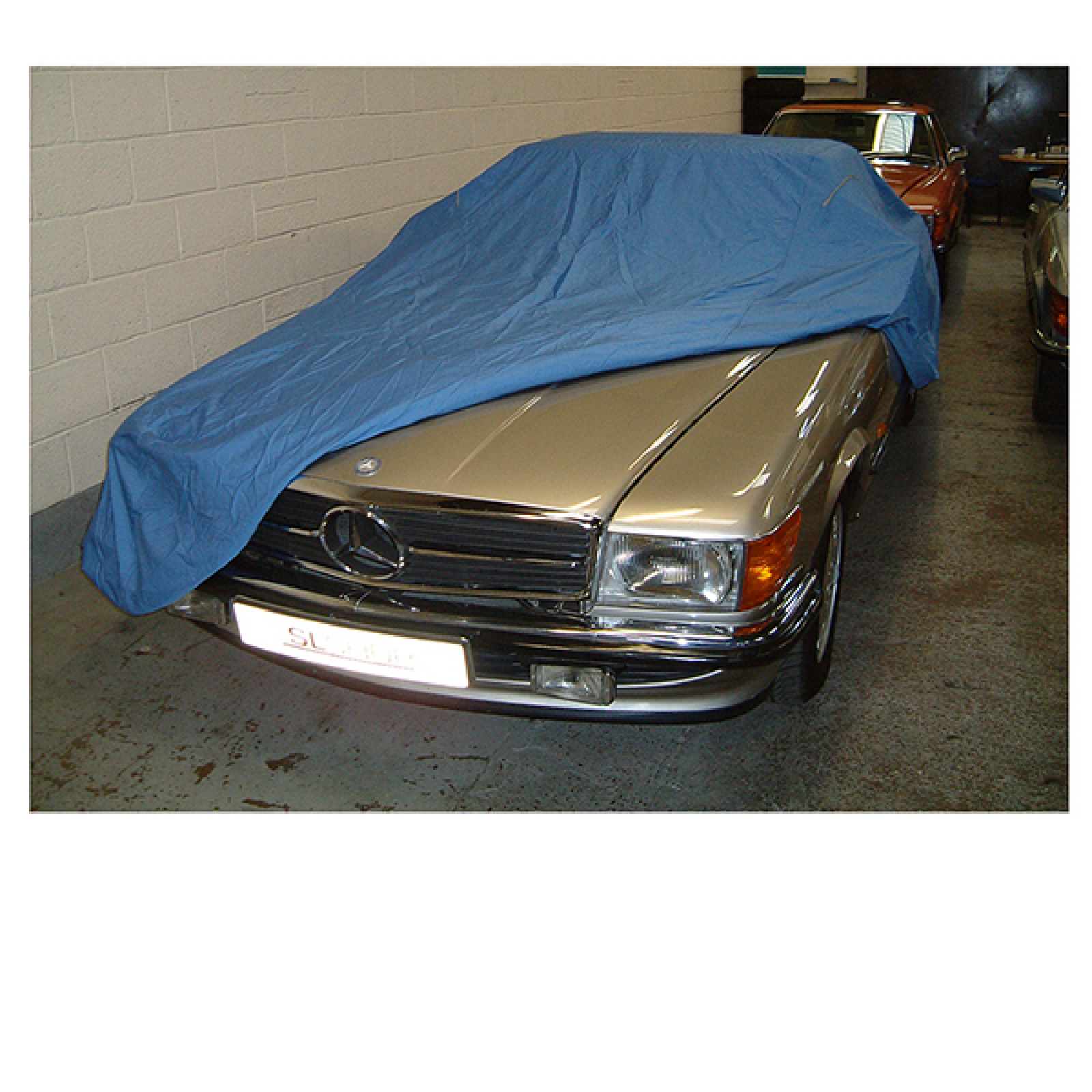 Mercedes benz sl r107 soft indoor car cover the sl shop for Mercedes benz car covers