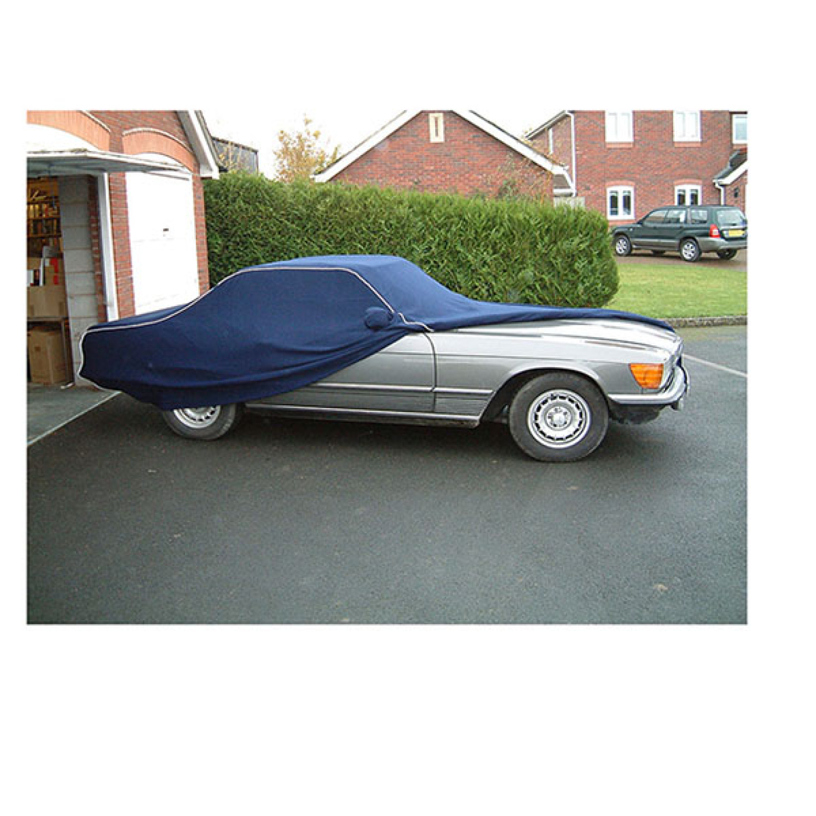 Tailor made soft indoor stretchy car cover mercedes benz for Mercedes benz car covers