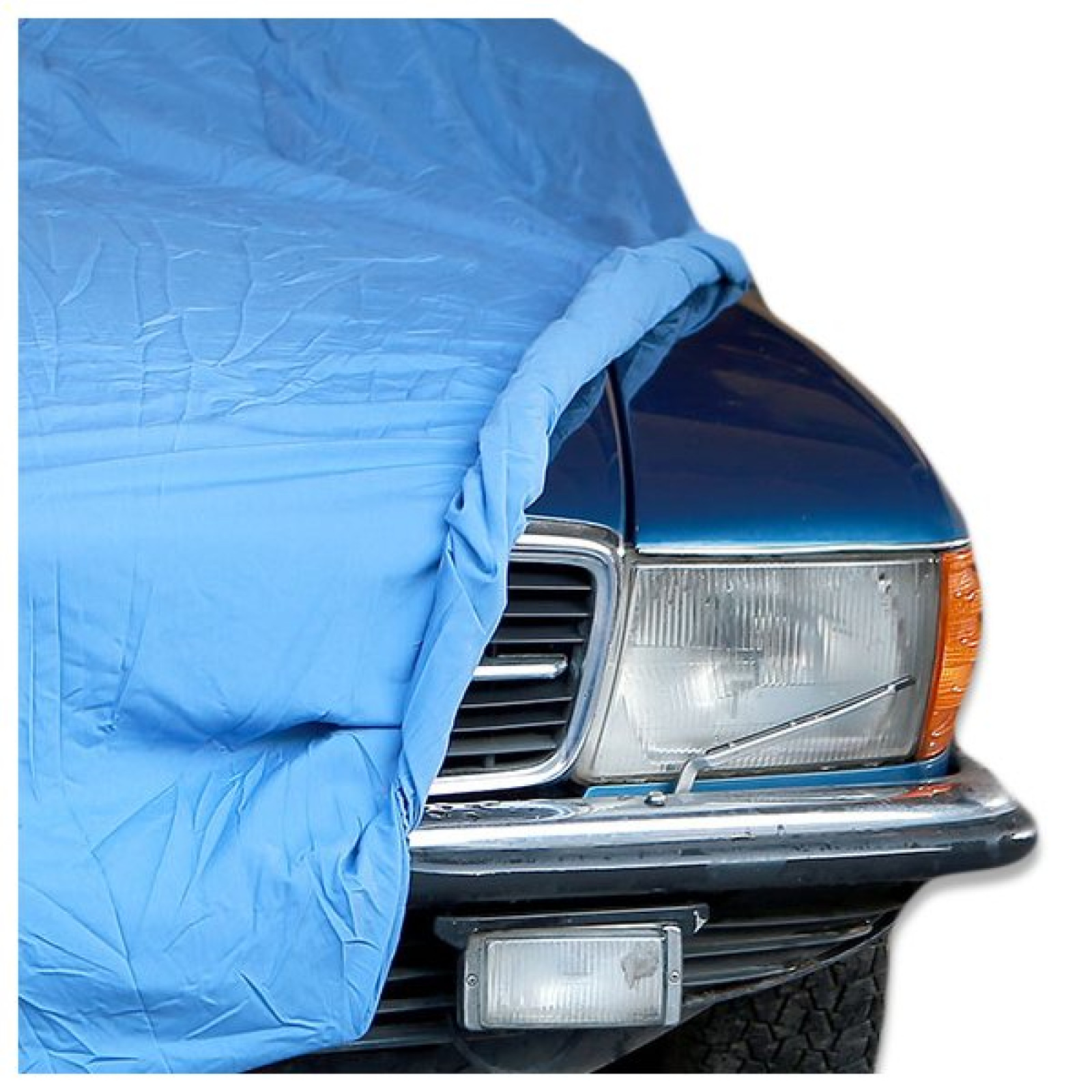Mercedes benz slc 107 soft indoor blue car cover the sl shop for Mercedes benz car covers