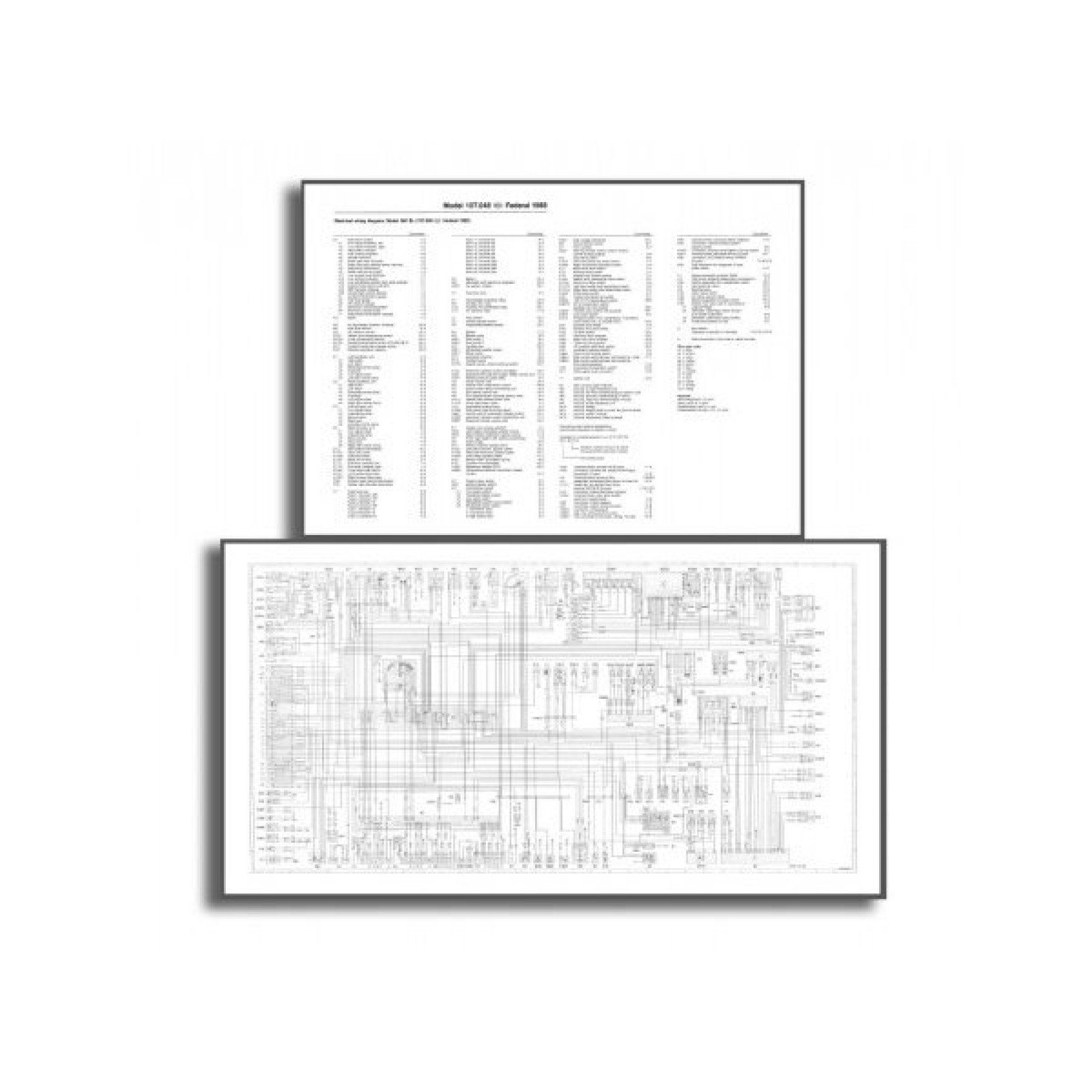 Mercedes-Benz SL 107 Wiring Diagram PDF Download ...