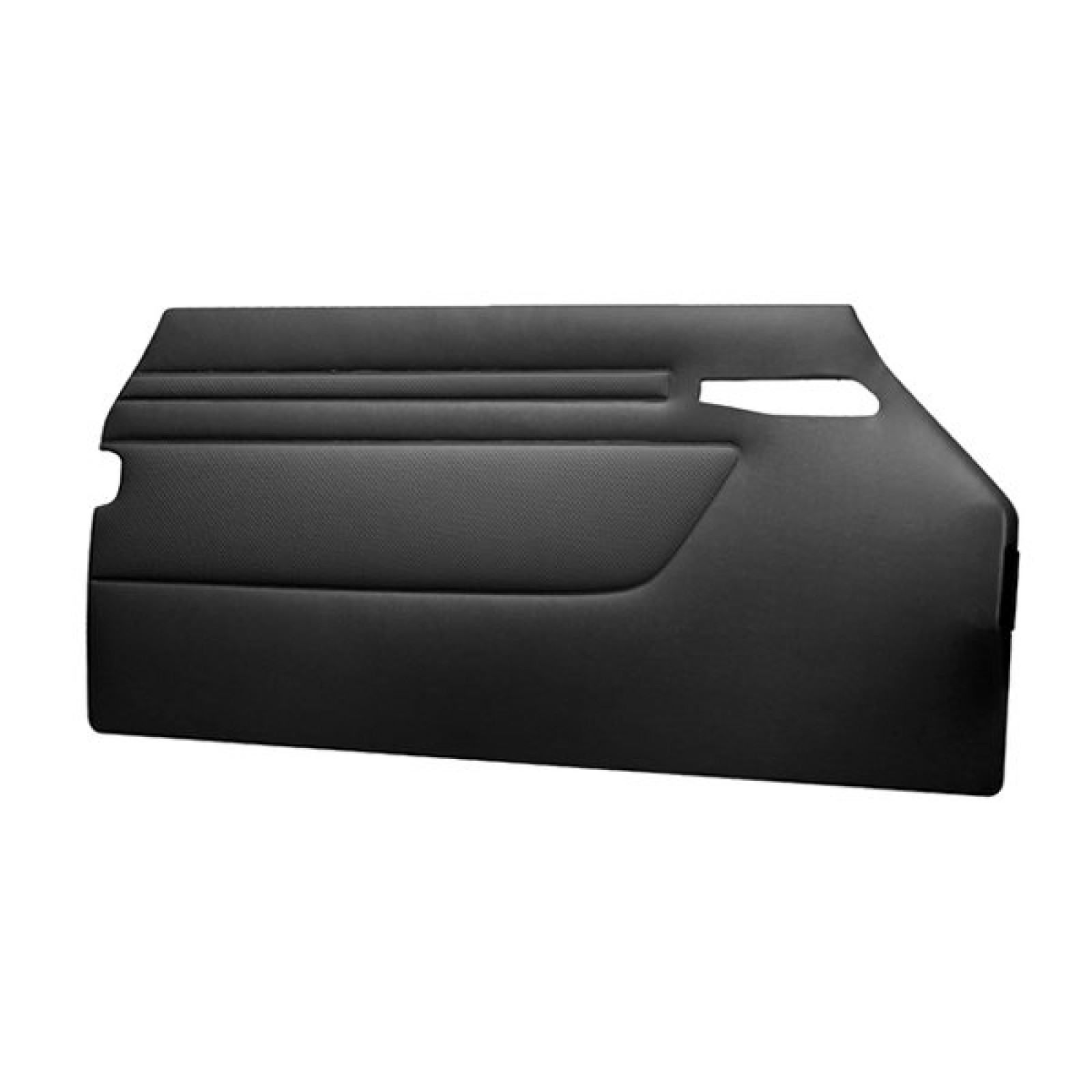 ... Mercedes-Benz SL R107 MB Tex Door Card Panel Set - Black ...