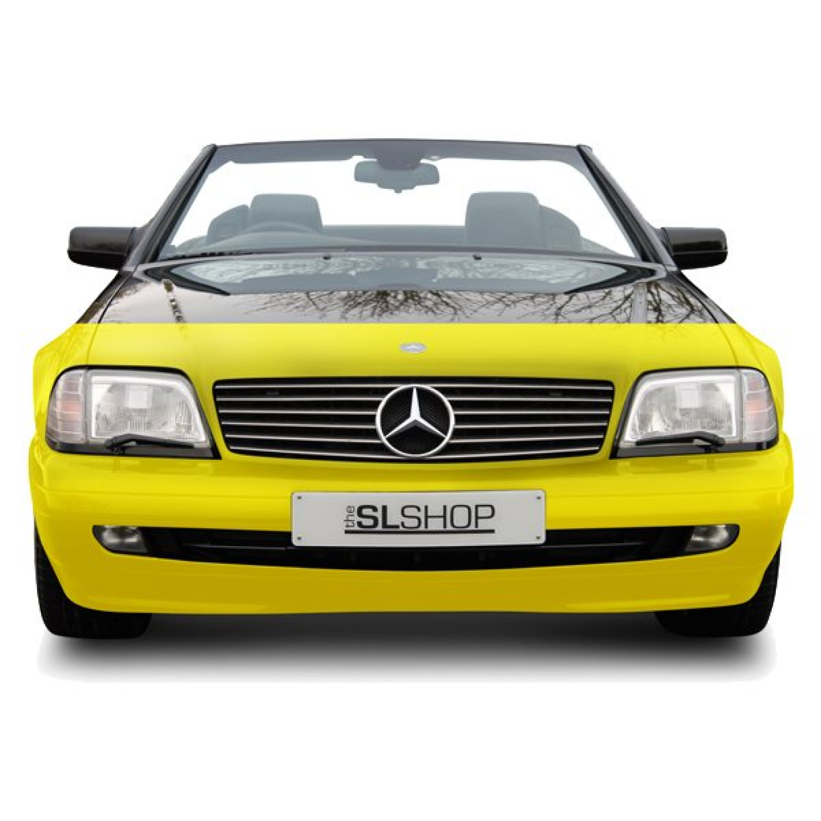 Mercedes benz sl r129 paint protection film pattern for Mercedes benz shop