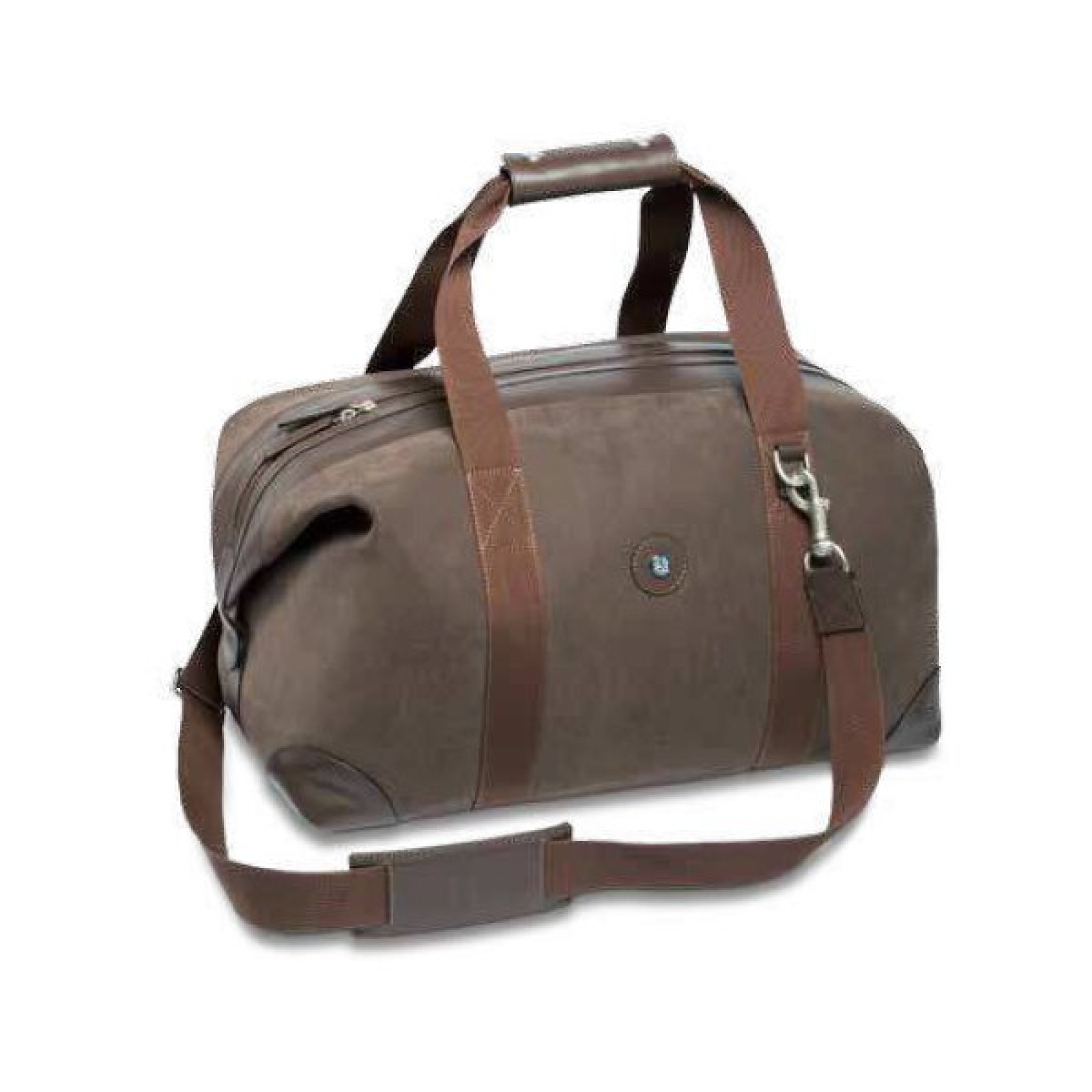 Mercedes benz official leather classic weekend bag brown for Mercedes benz purse