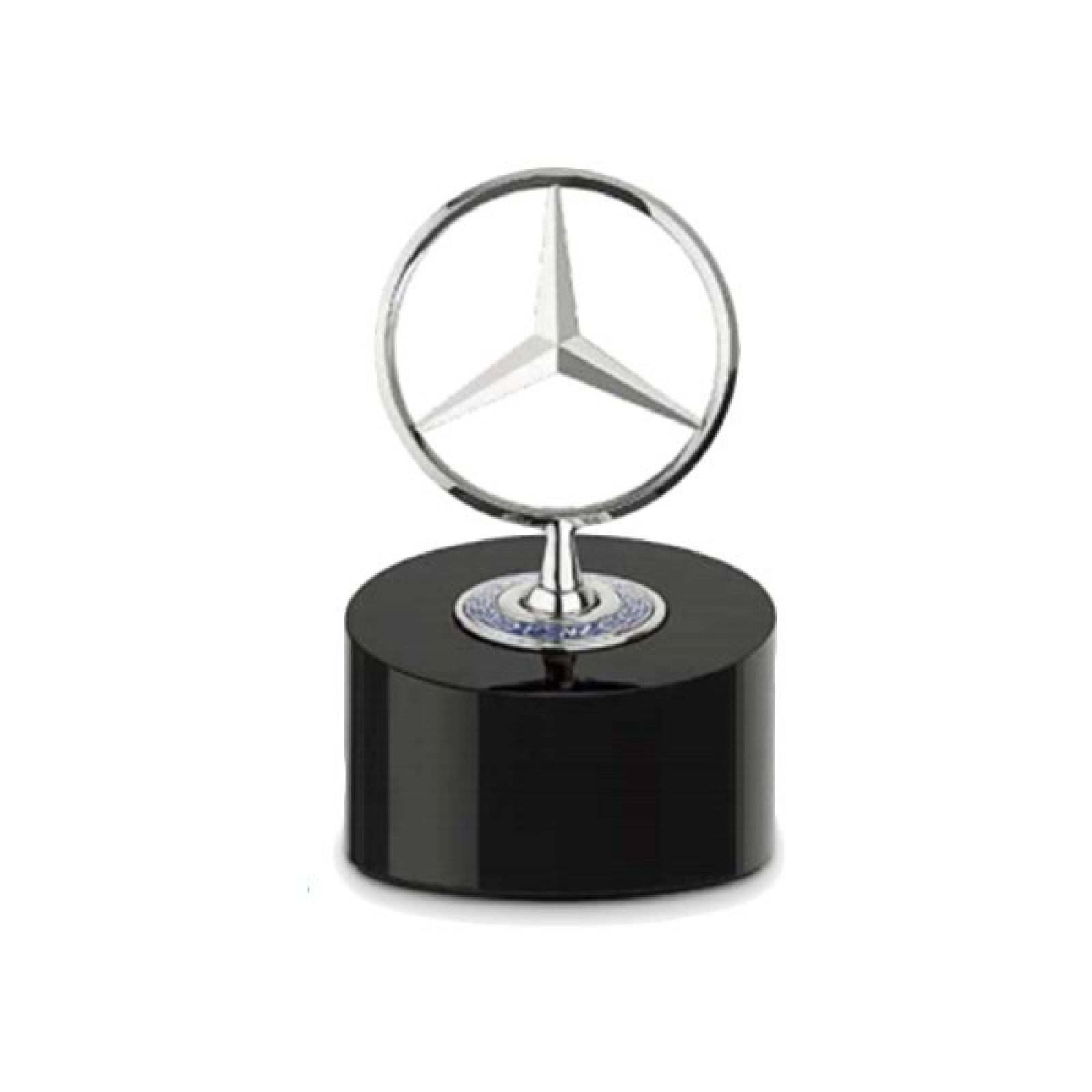 Mercedes benz official bonnet star desk paperweight the for Official mercedes benz parts