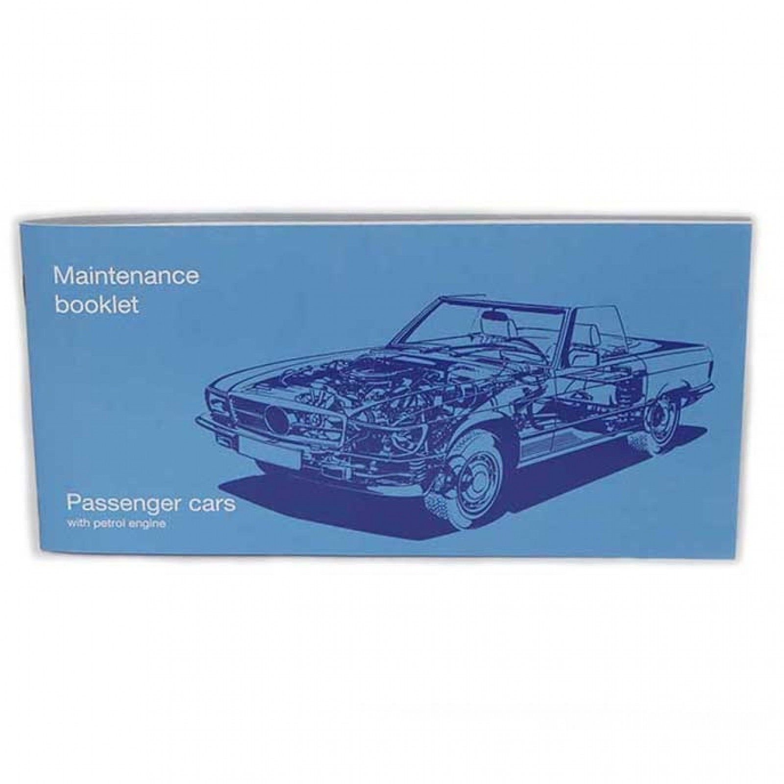 classic petrol mercedes maintenance booklet the sl shop