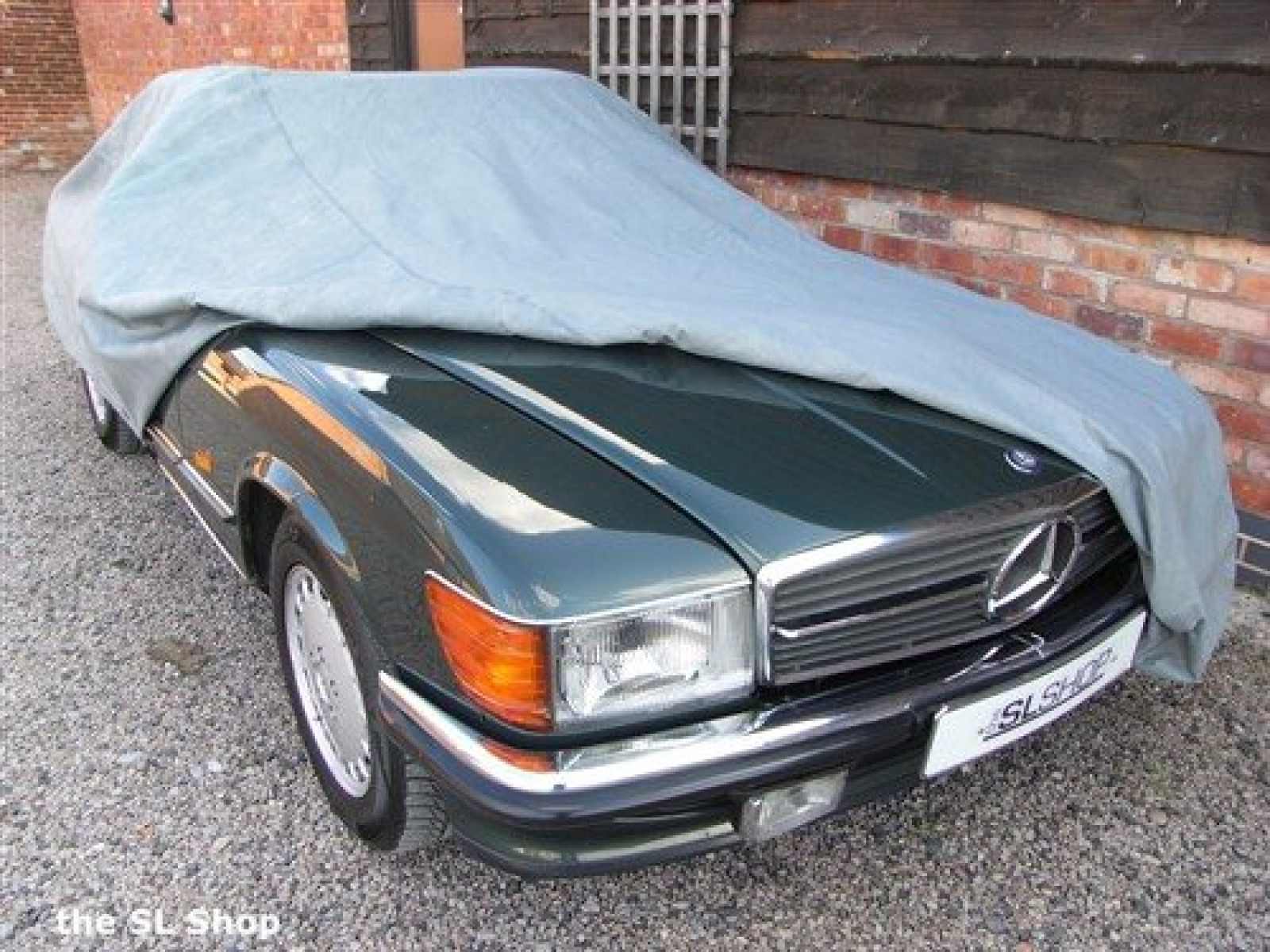 Mercedes benz slc 107 lightweight outdoor breathable grey for Mercedes benz car covers