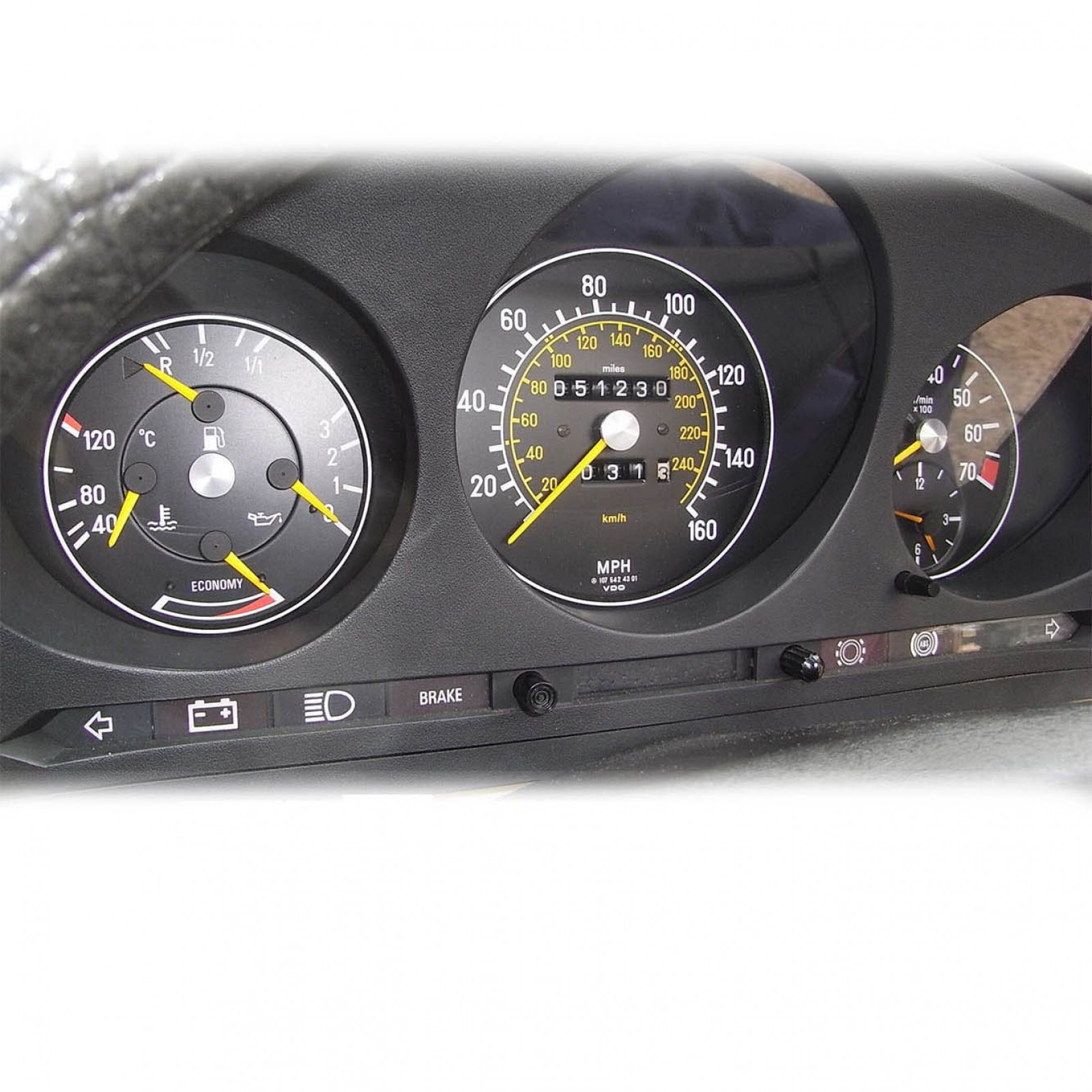 Mercedes benz sl 107 instrument cluster refurbishment for Mercedes benz cluster repair