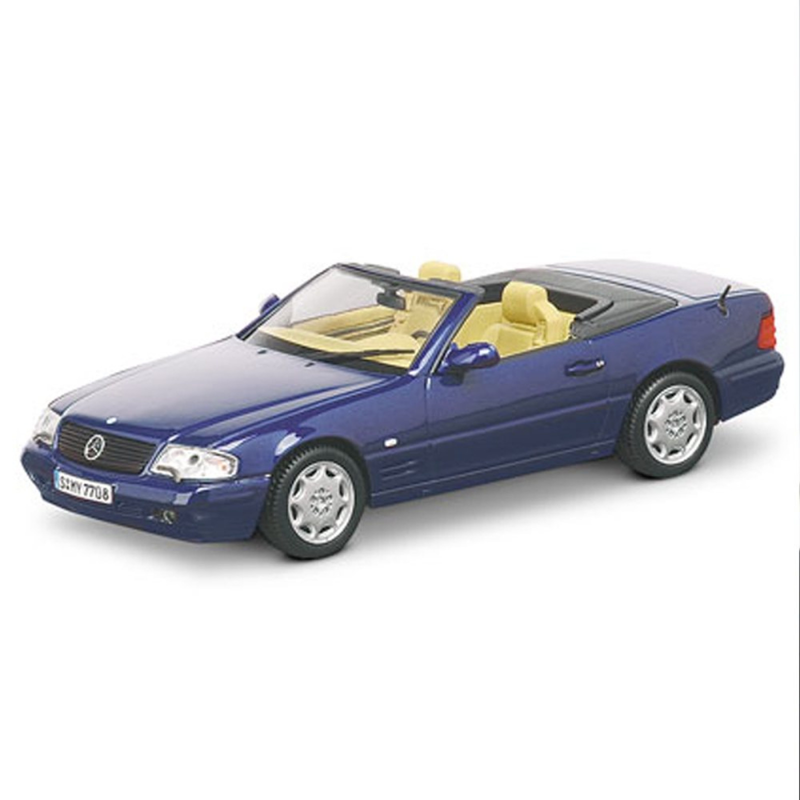 Mercedes benz 1998 39 01 r129 500sl 1 43 scale diecast model for Diecast mercedes benz