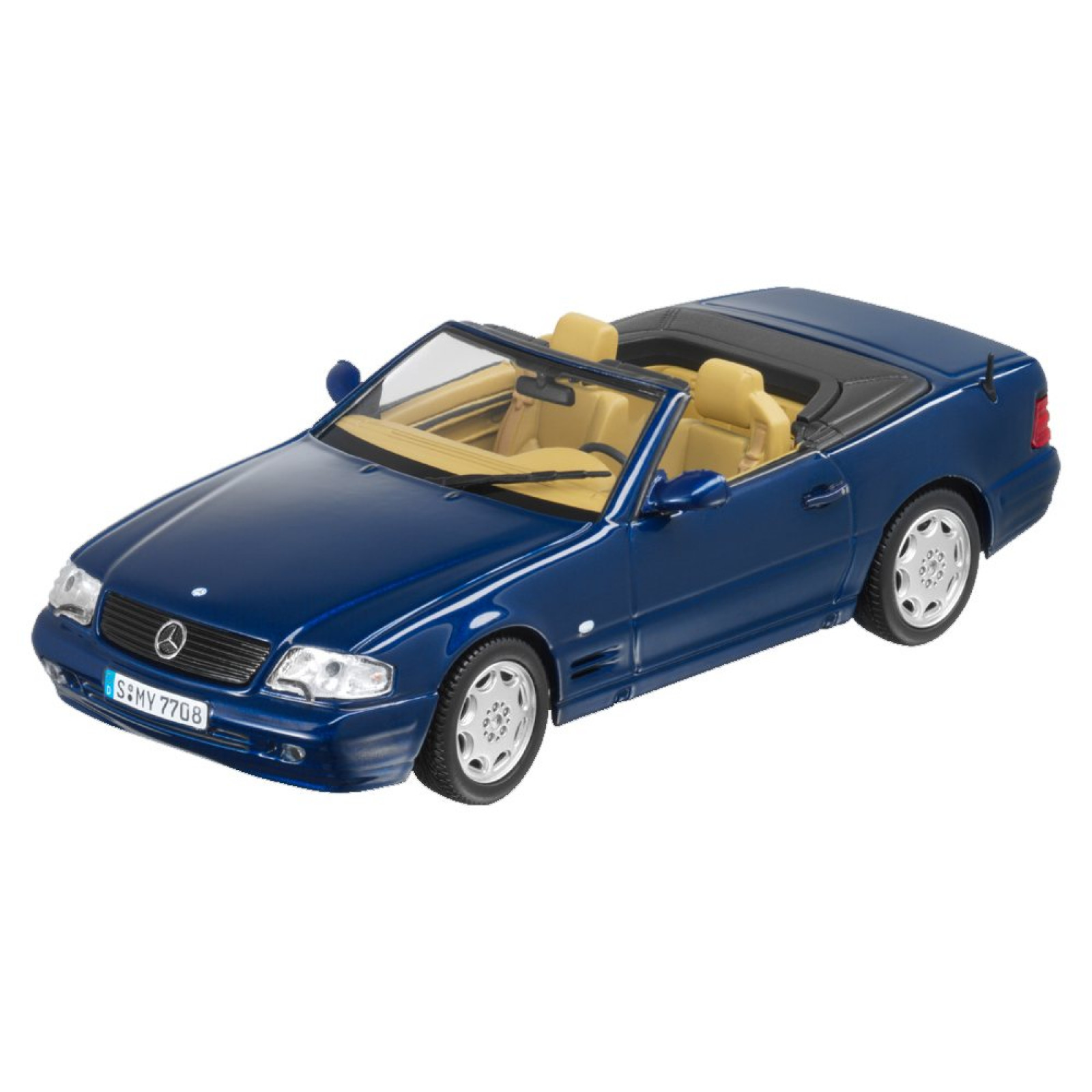 Mercedes Benz 1998 39 01 R129 500sl 1 43 Scale Diecast Model