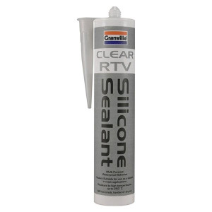 Granville Clear RTV Silicone Sealer Cartridge - 310ml