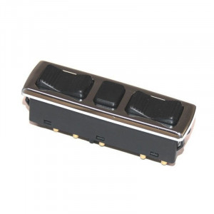 Left Chrome Power Window Switch for Mercedes - 0018214951