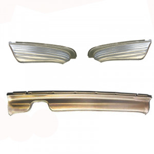 Mercedes-Benz SL 107 Full Steel Rear Valance Panel Package Deal