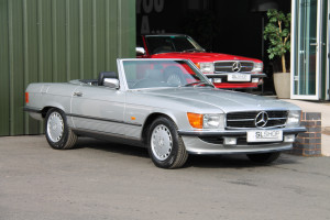 1987 D Plate | MERCEDES-BENZ R107 | 300 SL| STOCK #2084
