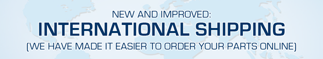 New & Improved International Shipping Rates