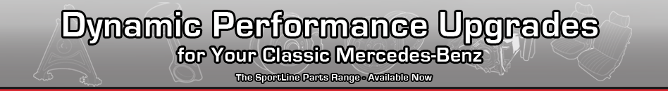 Dynamic Performance Upgrades for your Classic Mercedes-Benz