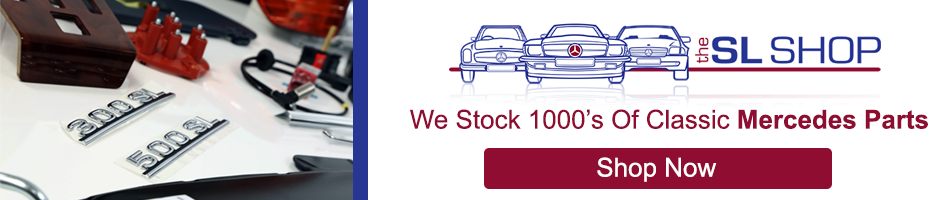 We Stock 1000s of Classic Mercedes Parts; Shop Now