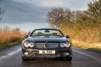 SL Shop Mercedes-Benz R230 SL500 LIMITED SPORT 5.5 Hire Car