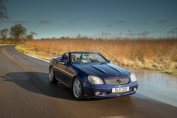 SL Shop Mercedes-Benz SLK 320 Hire Car