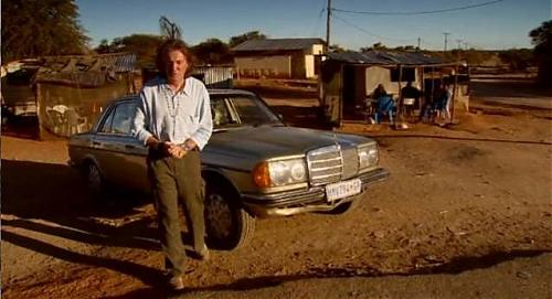 James May and his W123 on Top Gear