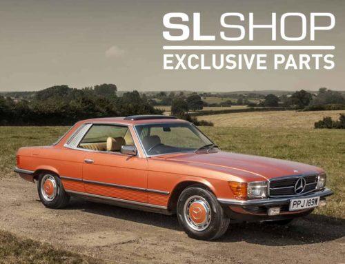 Exclusive Parts – 107 SLC Rear Windscreen