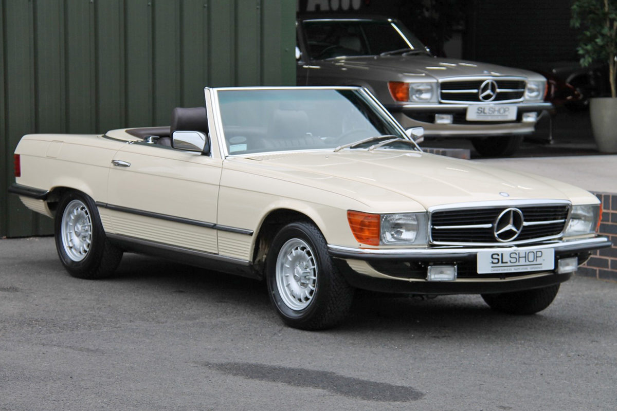 Mercedes-Benz 380SL R107