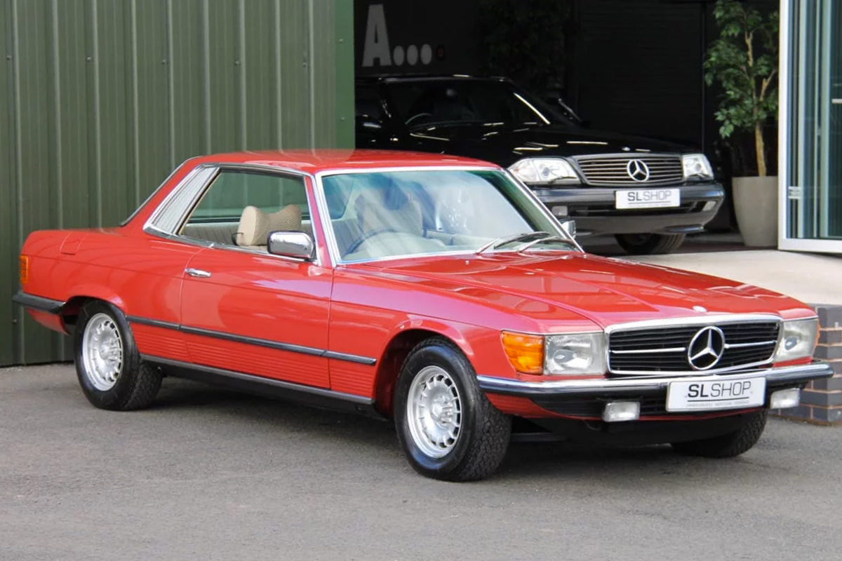Mercedes-Benz 450SLC C107