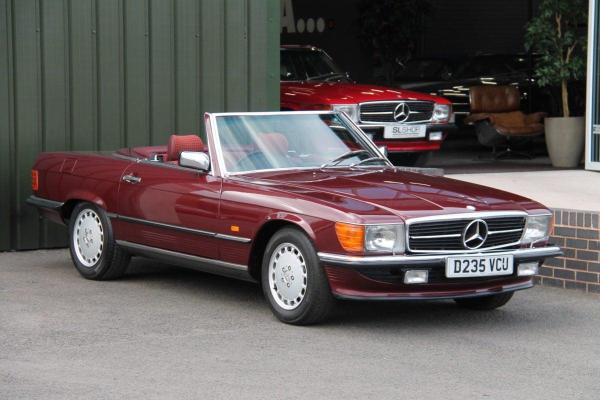 Classic Mercedes SL | The SLSHOP