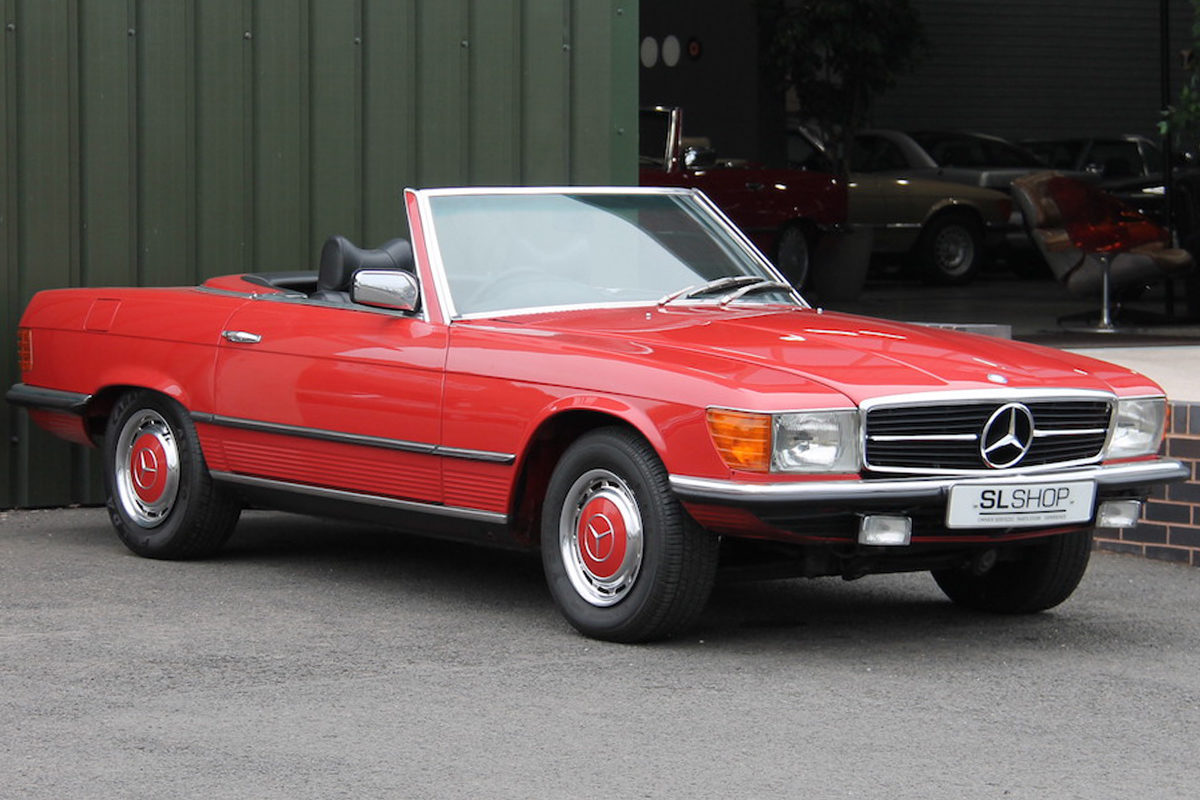 Mercedes-Benz 350SL R107