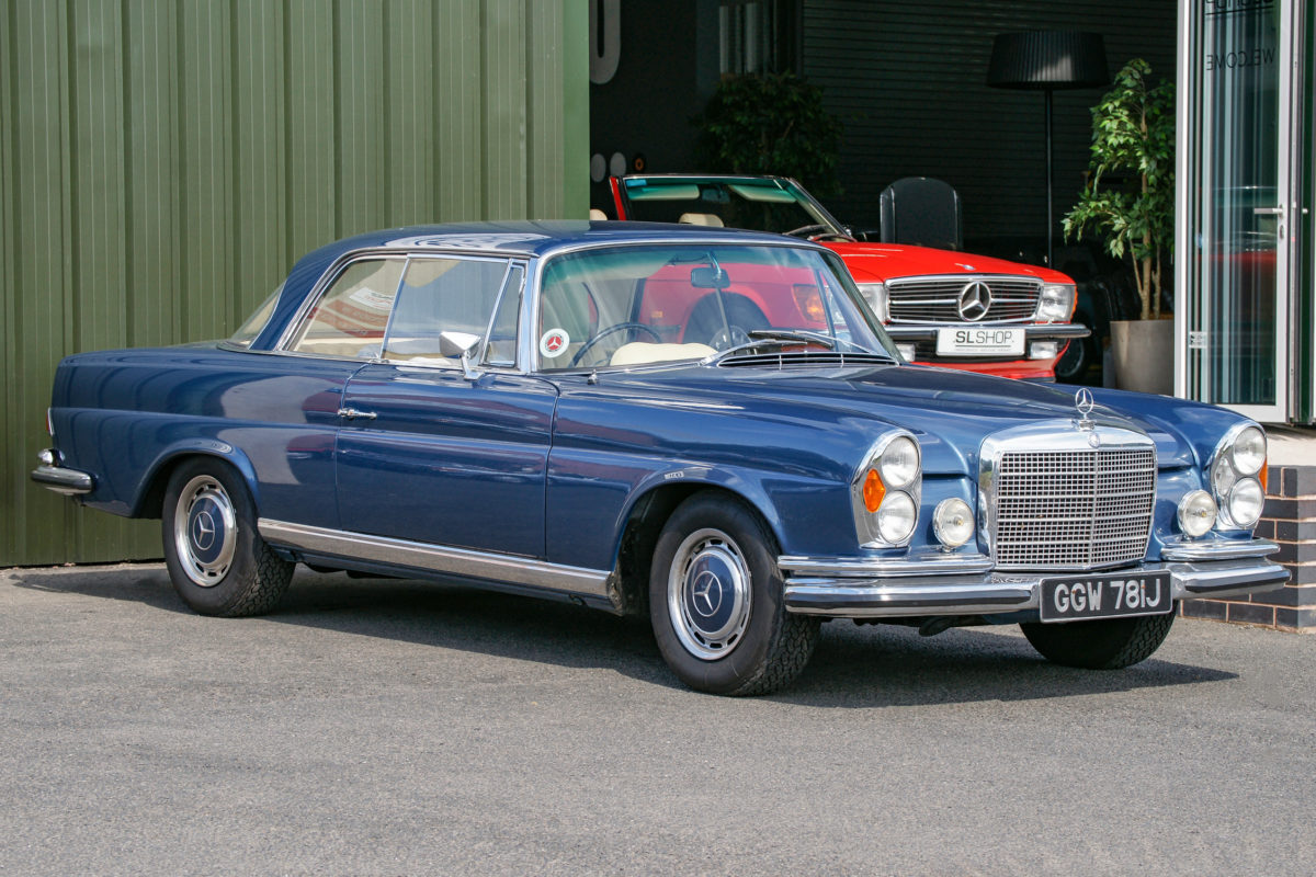 Mercedes-Benz 280SE 3.5 Coupe W111