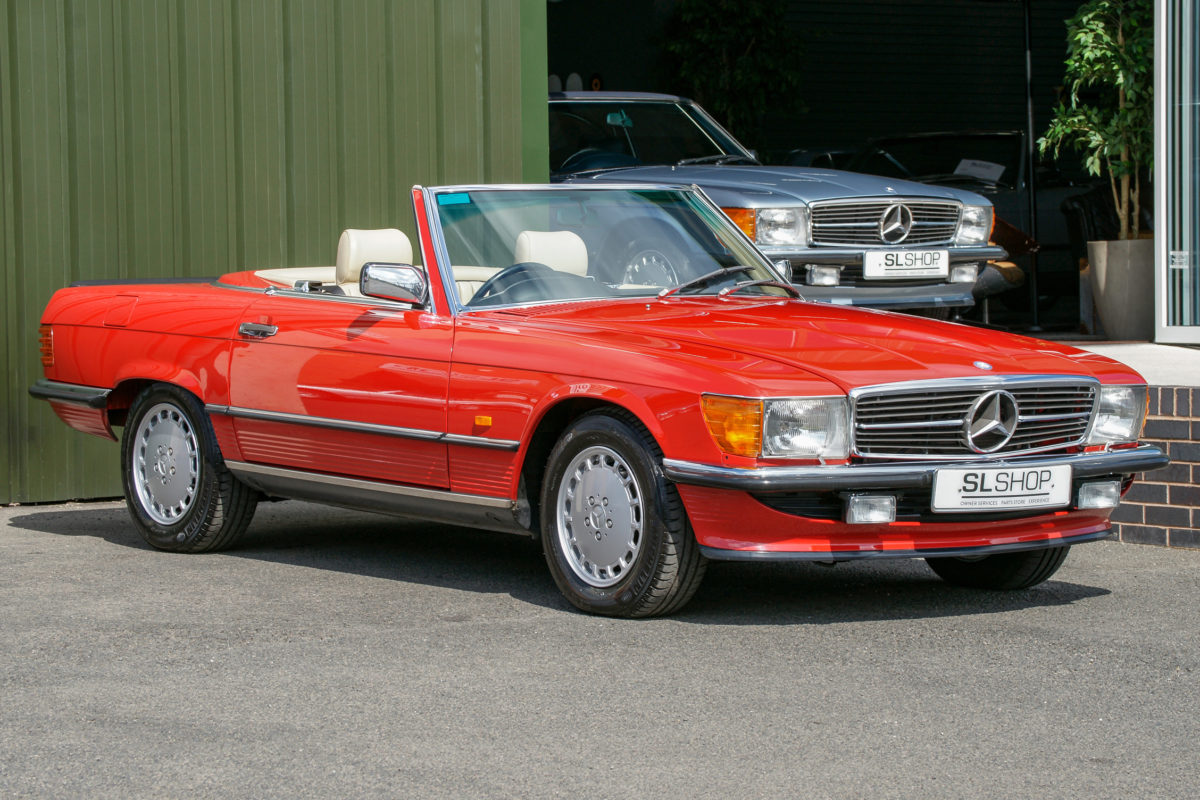 Mercedes-Benz 500SL R107